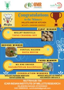 Millet Rasgulla- the Winner