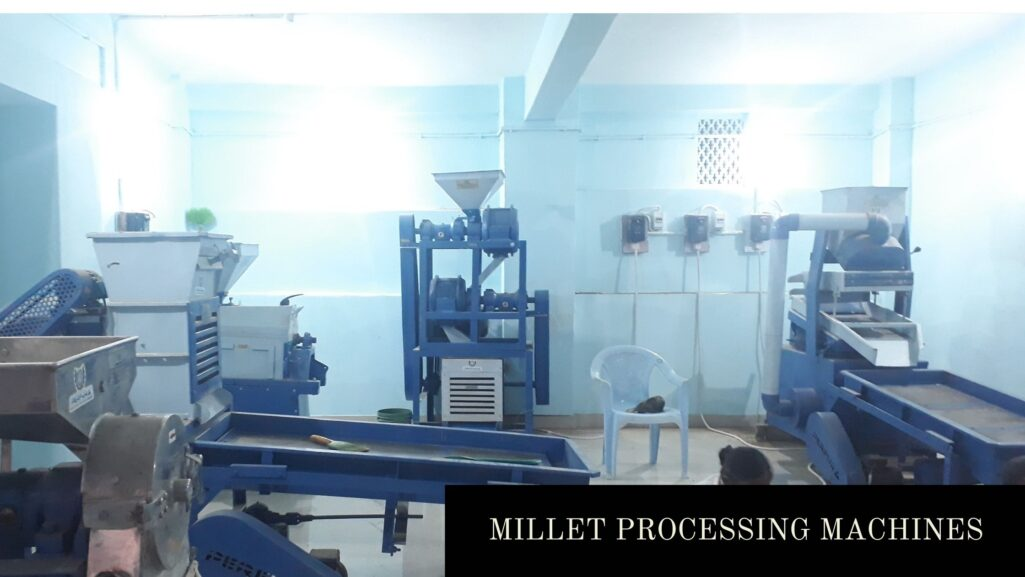 Millet Processing Machine