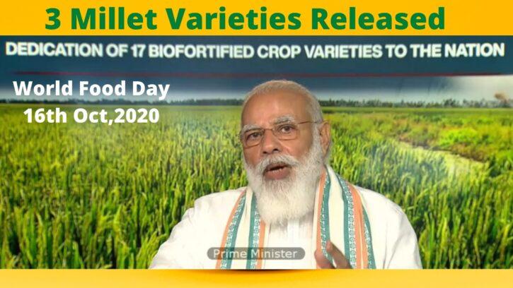 Millet Varieties Released