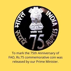 Rs.75 Coin Released